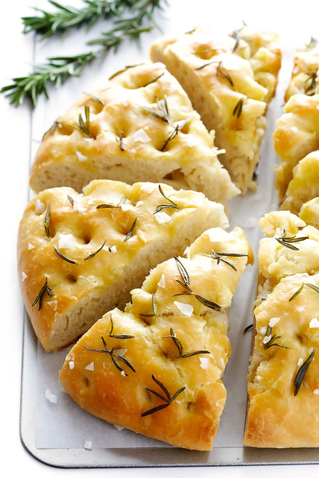 Rosemary Focaccia Bread by Gimme Some Oven