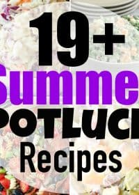19+ of the BEST Summer Potluck Recipes all in one place!