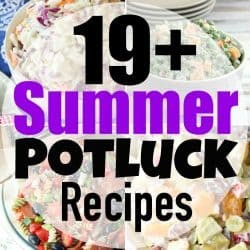 19+ Summer Potluck Recipes