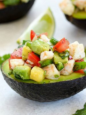 Easy Avocado Shrimp Ceviche Recipe