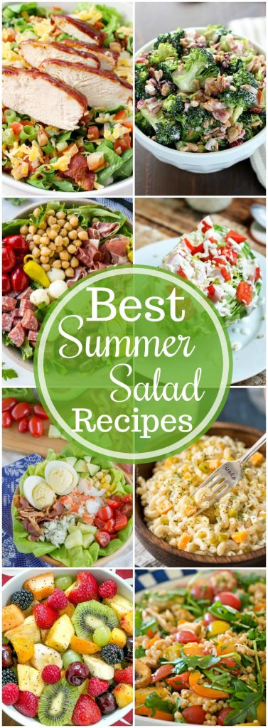 19+ of The BEST Summer Salad Recipes!