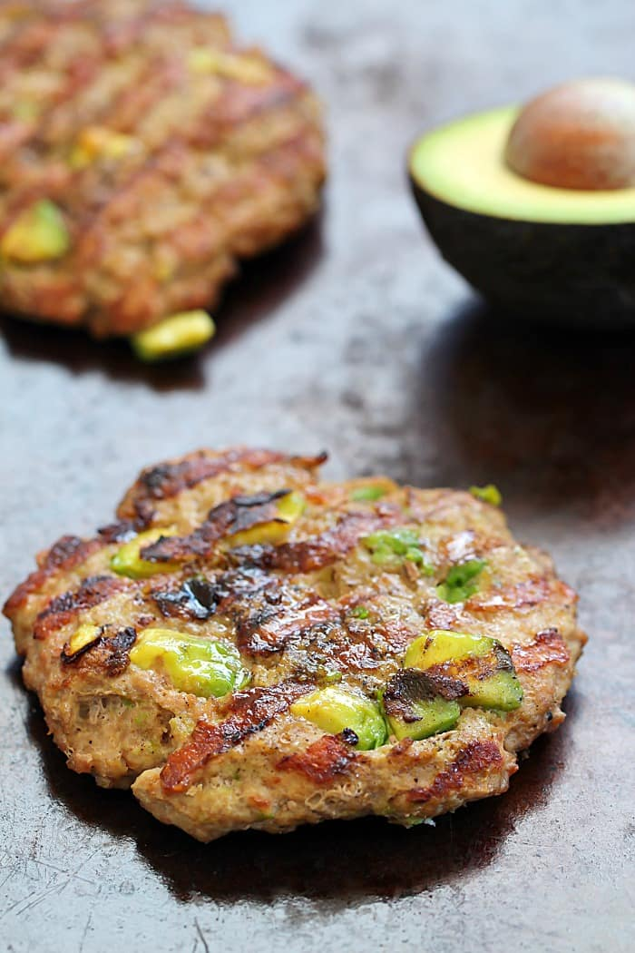 These Easy Turkey Avocado Burgers will quickly become your favorite, go-to turkey burger recipe!