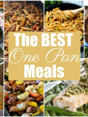 13+ of The BEST One Pan Meals!
