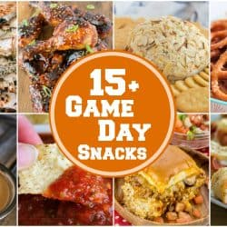 15+ EASY Game Day Snacks