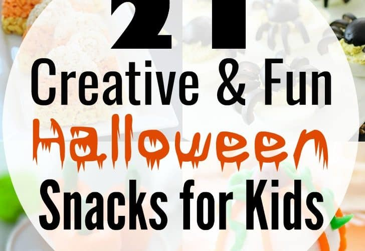 Your little ghouls will love these 21 insanely adorable Halloween snacks that are kid-tested and approved! Any of these easy creations will be the hit of the Halloween party!