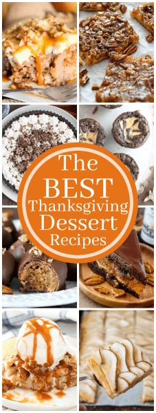 The Best Thanksgiving Dessert Recipes