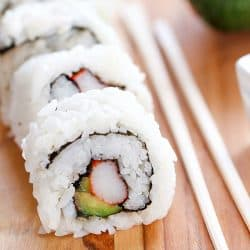 Easy California Sushi Rolls