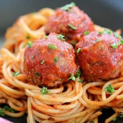 Incredibly tender, flavorful and delicious Bacon Meatballs for dinner tonight!