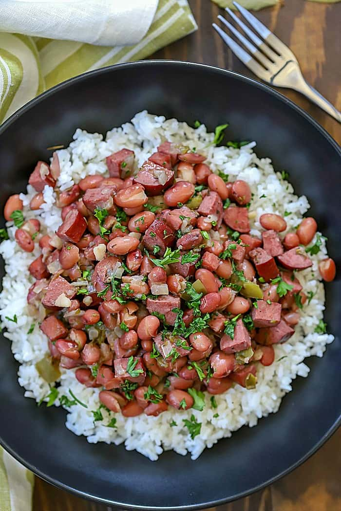 Red Beans and Rice is an amazing pairing! They make such a delicious and nutritious dinner recipe that everyone will love!