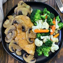 This Easy Chicken Marsala Recipe is my favorite go-to dinner recipe. Done in under 30 minutes and tastes like it came from a restaurant!
