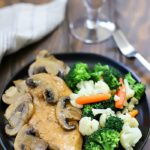 This Easy Chicken Marsala Recipe is one of my favorite low carb recipes! It's so easy to make and is done in under 30 minutes.