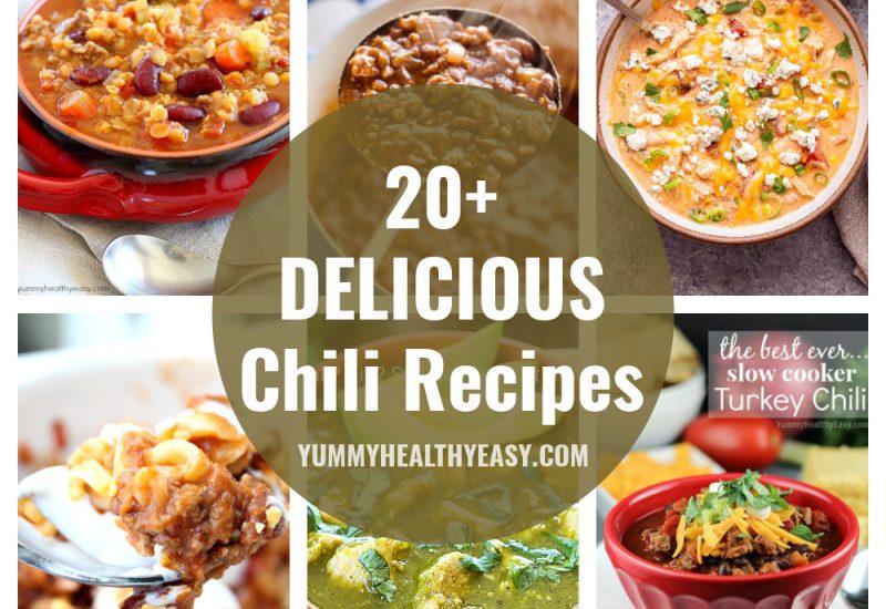 20+ Delicious Chili Recipes
