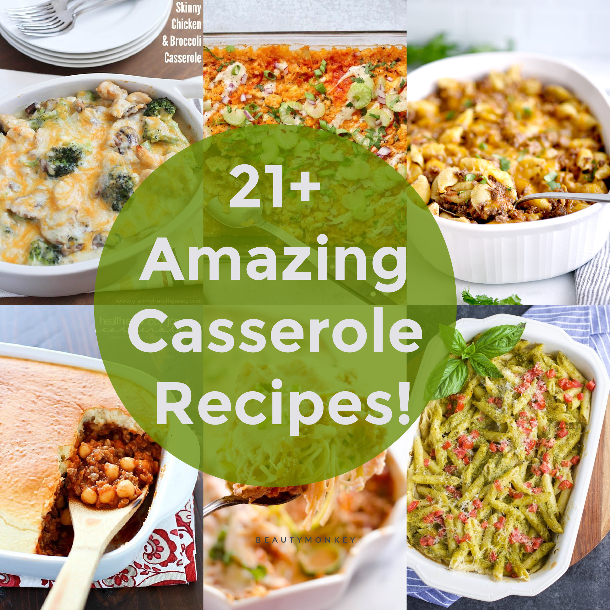 Check out these 21+ Casserole Recipes you're sure to LOVE! I don't know about you, but I love a good casserole and these are the best of the best! #casserole #easydinner #recipes #dinnerrecipe #easytofreeze #yummy #healthy #easy #yummyhealthyeasy via @jennikolaus